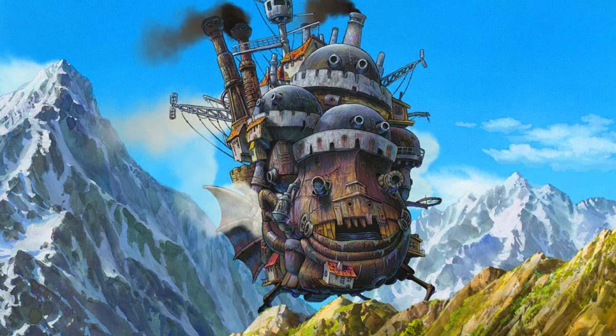 Resultado de imagem para castelo animado